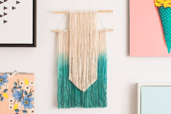 2 Simple Ways to Make Wall Art With String