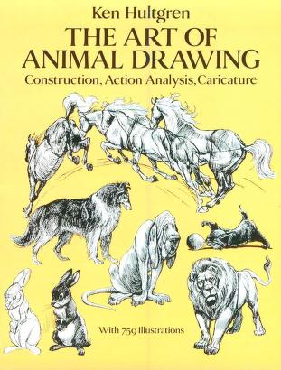 The Art of Animal Drawing, Construction, Action Analysis, Caricature