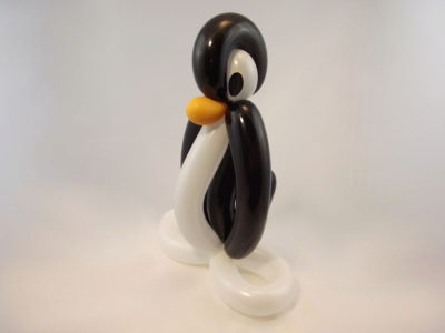 Balloon Twisting From Scratch 5 Tux The Penguin