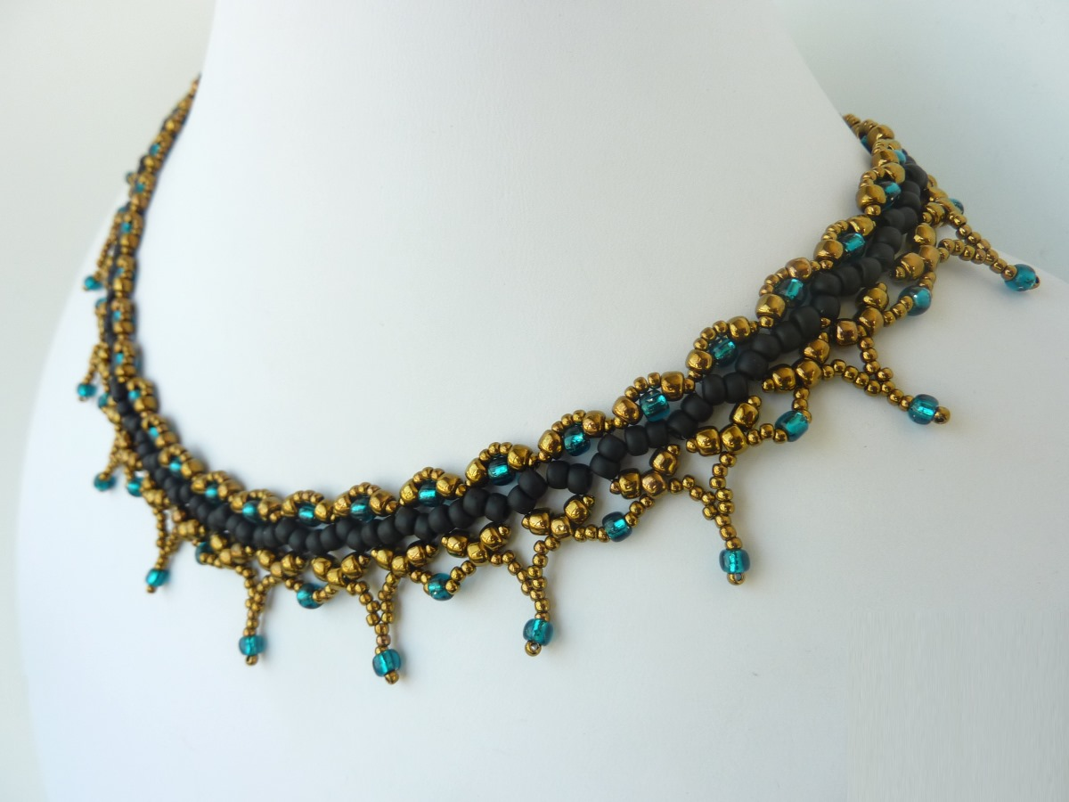 FREE beading pattern for Sophia Necklace