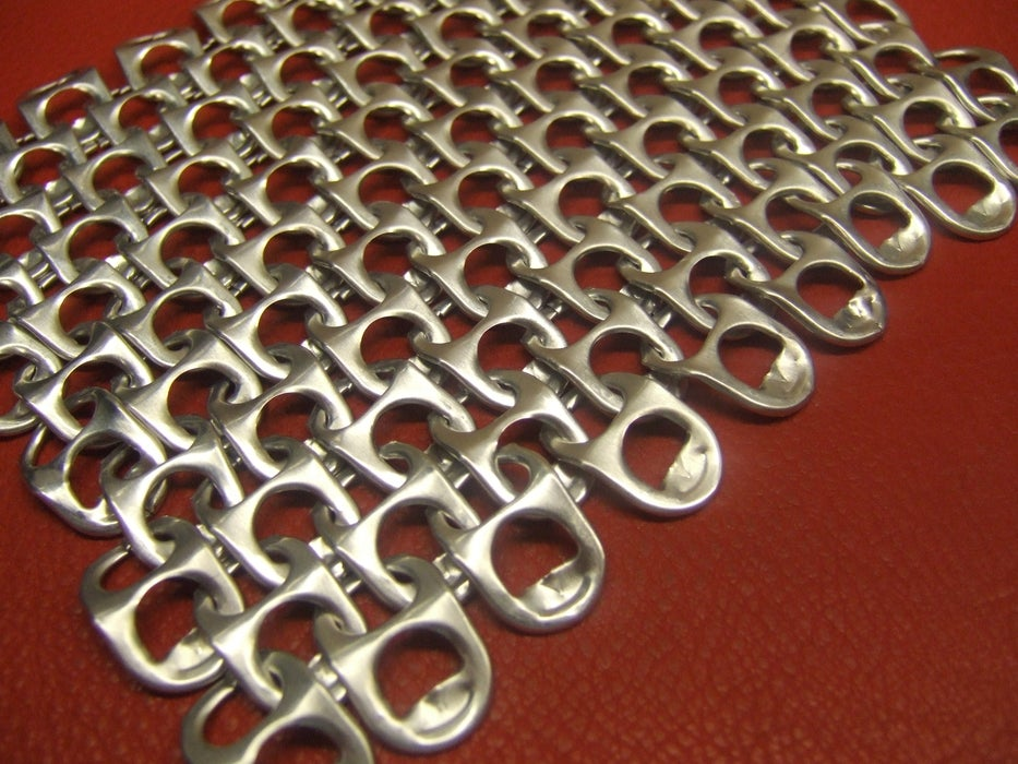 Genuine Chainmaille From Pop Tabs
