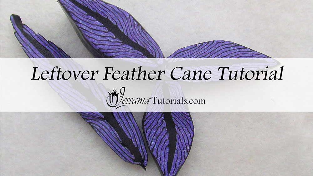 How To Make A Leftover Feather Cane