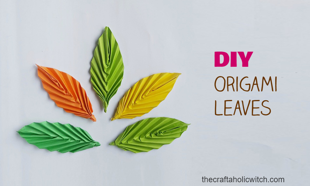 How to Make Easy Origami Leaves (for Beginners)