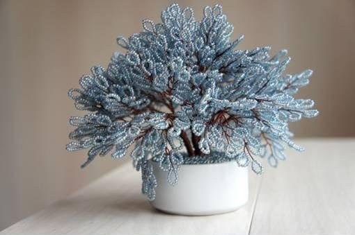How to Make Miniature Tree of Beads with Step by Step Tutorial