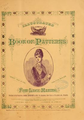 Illustrated Book Of Patterns For Lace Making