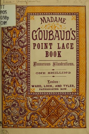 Madame Goubaud's point lace book