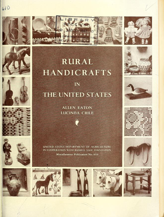Rural handicrafts in the United States