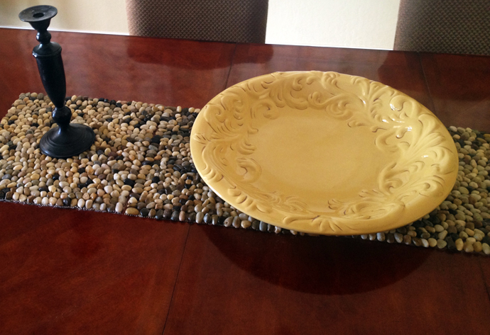 Stone Table Runner & Placemats DIY