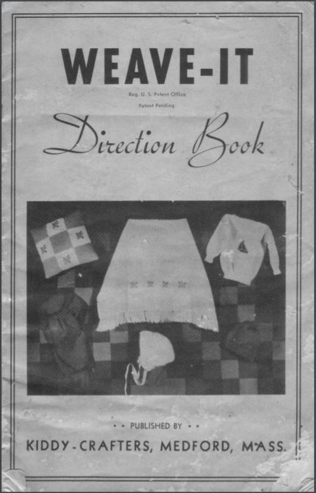 Weave It Direction Book