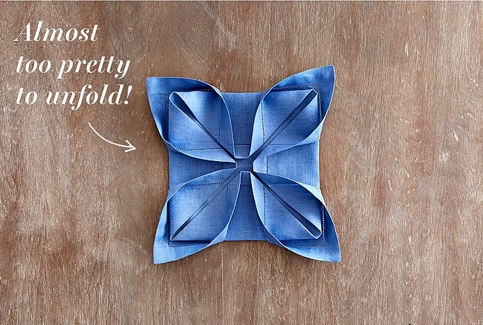 Your Step by Step Guide to Nailing 3 Hot Napkin Folds